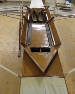 Partie centrale du skiff