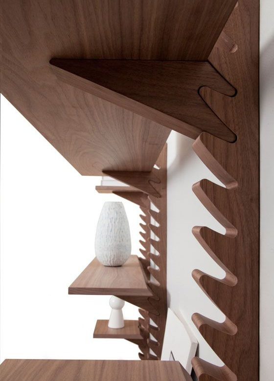Crémaillères et étagères bois
