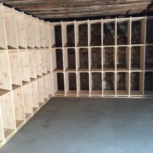 am nagement d 39 une cave vins agencement trunz. Black Bedroom Furniture Sets. Home Design Ideas